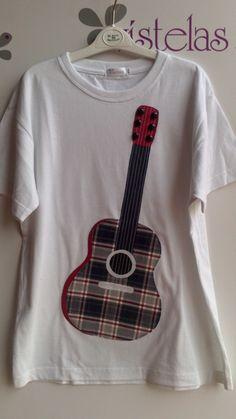 VISTELAS. Camiseta GUITARRA