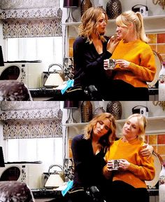 Charity and Vanessa kiss and cuddle in November 2019 - Emmerdale Vanity: Charity Dingle x Vanessa Woodfield Great Love Stories, Love Story, Michelle Hardwick, Favorite Tv Shows, My Favorite Things, Little Brothers, Best Sister, November 2019, Johnny Was
