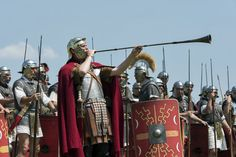 Great article about music in the Roman army here: http://www.leg8.com/histoire-vivante/armee-romaine/vie-du-soldat/musique-militaire