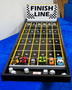Buy or rent the fun Road Rally Game--perfect for kids and teens! It is a game involving dice and toy cars. Call Jack's Carnival Games today.