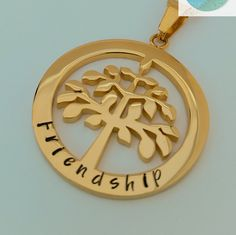 Family Names Tree of Life Pendant Personalised Jewellery Hand Stamped Name Necklaces Gold Family Name Pendants Tree of Life Gift Australia Tree Of Life Necklace, Tree Of Life Pendant, Love Heart Symbol, Gifts Australia, Love Stamps, Hand Stamped Jewelry, Felt Hearts, Gifts For Mum, Name Necklace