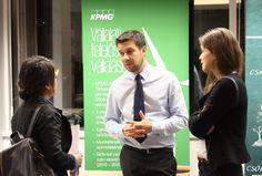 Green Economic Forum 2016 - Mr István Szabó (CSR Manager, KPMG); Ms Borbala Pulay (Junior CR Expert, KPMG)