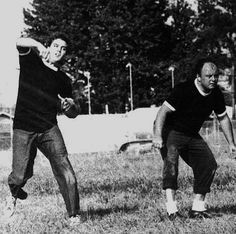 Elvis played football during breaks on the set of movies, when on holidays and whenever he got the chance with his friends