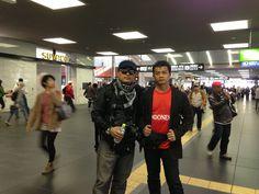 Bareng sodareku Rizal Fahlevi #SapporoJRStation #Japan