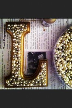 DIY: decorative letters