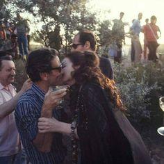 Oblivion-soave: Pier Paolo Pasolini and Maria Callas kiss in the set of Medea, - Maria Callas, Pier Paolo Pasolini, Henry Moore, Cappadocia, Vintage Love, Timeless Fashion, Literature, The Past, Couples