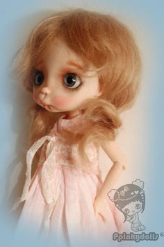 Miko' collectible BJD' OOAK,Full set doll by Chrishanthi ''Ppinkydolls''