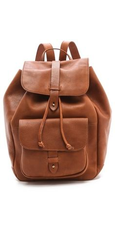 Madewell Leather Rucksack | SHOPBOP