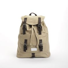 Lido Backpack Sand / Max Marvin
