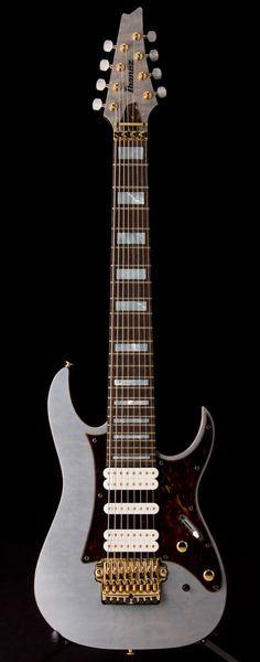 IBANEZ TAM100 Tosin Abasi Signature 8-string in Transparent Gray | Guitar Center