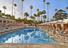 Seit über 100 Jahren ist The Beverly Hills Hotel Zufluchtsort der Reichen und Schönen – Interiordesigner Adam Tihany hat den glamourösen Chic wiederbelebt. Mehr auf www.ad-magazin.de (Foto: Eric Laignel)
