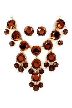 Chocolaty Bubble Necklace Set | Emma Stine Jewelry Necklaces