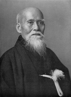 The Founder of Aikido - Morihei Ueshiba