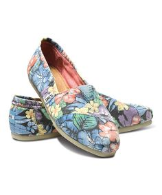 Another great find on #zulily! Faded Tropical Classics by TOMS #zulilyfinds