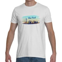 T-shirt  New York   5 colors  by Exclusive21 on Etsy