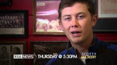 WRAL sits down with Scotty McCreery (story airs on TV October 2 @ 5:30PM)