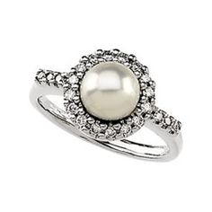 A pearl wedding ring could be unique and awesome... something-old-something-new