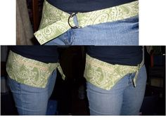 """hip pouch. just enough room for essentials without converting to full on """"fanny pouch"""""""