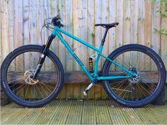 The new wave of steel frame full suspension bikes - MBR Mountain Biking, Mountain Bike Frames, Hardtail Mtb, Hardtail Mountain Bike, Velo Design, Bicycle Design, Mtb Bike, Cycling Bikes, Road Bikes