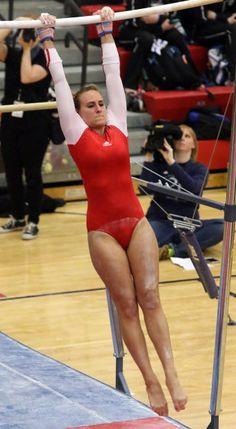 Portage's Madison Kurtz performs on the uneven bar Gymnastics Flexibility, Gymnastics Poses, Gymnastics Girls, Gymnastics Leotards, Young Gymnast, Female Gymnast, Kate Middleton Bikini, All About Gymnastics, Foto Sport