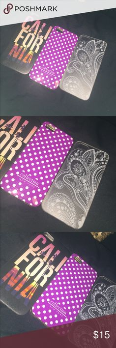 iPhone 5/5S/5SE cases All are brand-new never used. All are from Amazon. First two are hard to look on cases. Last one is a hard case. Price is for all. NOT VS JUST LISTED FOR EXPOSURE Victoria's Secret Accessories Phone Cases