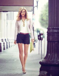 Keeping It Short And Sweet  #Jackets #Shirts & Blouses #Shorts
