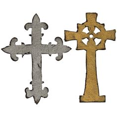 Sizzix Bigz Die By Tim Holtz Ornate Crosses