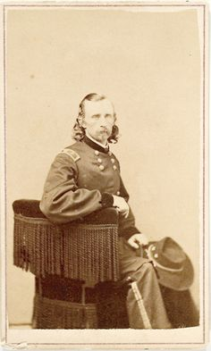 CDV of Major General Custer with imprint of John Goldin & Co., Washington, D.C.
