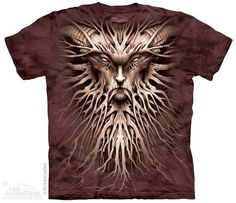 men's or woman's tshirt tree dark roots by LIBERTYHORSE on Etsy