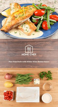 If you're craving something light after a weekend of eating donuts and burritos, look no further. Sole has a super delicate flavor and texture that calls for a gentle hand when cooking. (That's our way of saying don't worry if it falls apart while you cook it.) It's perfectly paired with lemon-butter pan sauce, roasted shallots, green beans, and grape tomatoes. Simple, elegant, and delicious.