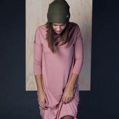 šaty a sukně Vilma pudrově růžová 6ca4f38df24