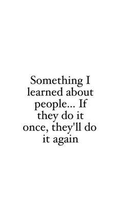 Something I learnt...