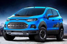 Ford EcoSport Storm concept crossover - inspired by the Raptor.