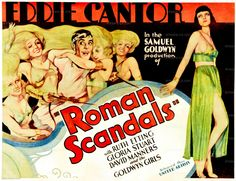 Roman Scandals w/Eddie Cantor (1933) via A Tribute to Precode Hollywood
