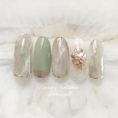 Korean Nail Art, Korean Nails, Coffin Nails, Gel Nails, Manicures, Mani Pedi, Manicure And Pedicure, Human Doll, Fire Nails