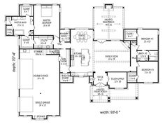 1st Floor Plan, 062H-0102
