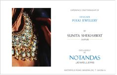#designer #polkijewellery collection - #ARoyalaffair unveiled by Notandas Jewellers , crafted by @sunitashekhawatjaipur . For more such updates on #jewellery and #jewellers visit www.jewellerscheck.com