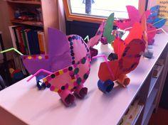Kinderwagen knutselen kleuters thema baby