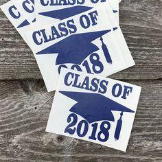 Graduation Party labels for grad parties, commencement celebration, grad hat labels, non toxic chalkboard stickers,Graduation Party Supplies