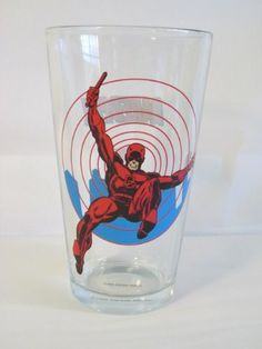 Marvel Comics Daredevil 6Inches Tall 16 Oz Glass Toon Tumbler ** Read more reviews of the product by visiting the link on the image.Note:It is affiliate link to Amazon.
