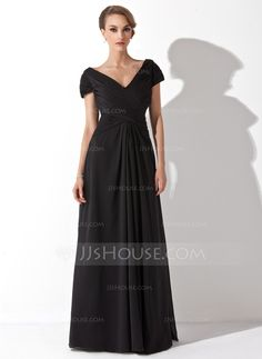 Mother of the Bride Dresses - $128.99 - A-Line/Princess Off-the-Shoulder Floor-Length Chiffon Mother of the Bride Dress With Ruffle (008006416) http://jjshouse.com/A-Line-Princess-Off-The-Shoulder-Floor-Length-Chiffon-Mother-Of-The-Bride-Dress-With-Ruffle-008006416-g6416