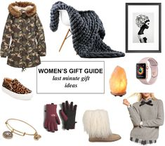 Decor by Demree: Women's Holiday Gift Guide: Last Minute Gifts