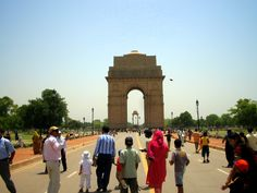 India Gate, Nueva Delhi, India - junio 2008. Fotografía por Walter Ávila