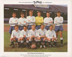 Tottenham Hotspur Football Club, My favourite team Classic Football Shirts, Best Football Team, Retro Football, Football Kits, Vintage Football, Football Cards, English Football Teams, Typhoo, Tottenham Hotspur Players