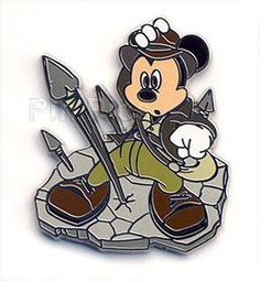 mickey as indy. gold.
