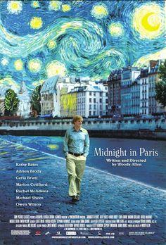 Minuit à Paris #visite capitale #clichés parisiens #gad elmaleh #carla bruni