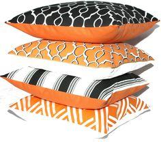 Christmas Gift Ideas - OH HOME orange cushions