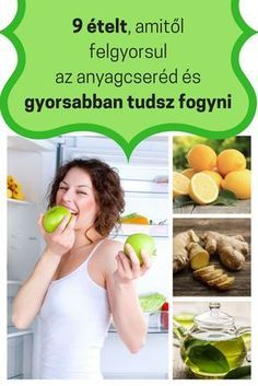 Fogyókúrás ételek - 9 ételt, amitől felgyorsulj az anyagcseréd és gyorsabban tudsz fogyni - kattints a képre és olvasd tovább! Health Eating, Health Diet, Health Fitness, Natural Remedies For Ed, Healthy Life, Healthy Living, Health Tonic, Health Trends, Weight Loss Detox