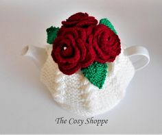 How To Order Coffee, Beautiful Crochet, Red Roses, Cosy, Hand Knitting, Crochet Earrings, Porcelain, Tea, Pattern