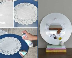 Make Your Own Mirror We offer you creative examples from each other with the Make Yourself Project. The best thing about DIY projects is that we use our creativity as well. Diy Home Crafts, Diy Home Decor, Ideias Diy, Diy Mirror, Creative Decor, Contemporary Decor, Easy Projects, Making Ideas, Decoration